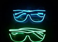 النظارات المضيئة