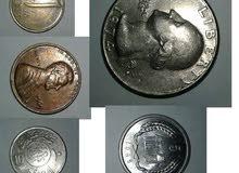 نبيع عملات معدنية وورقية للهواة بارخص الاسعار للتواصل 01065838108