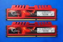 للبيع رمات G.SKILL 8GB (2 x 4GB) Ripjaws X Series DDR3 1600MHz