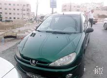 بيجو 206 2001 للبيع او للبدل ع سيارة احدث مع دفع الفرق
