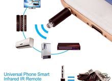 Universal 3.5mm Smart Infrared Mobile IR Remote Control Jack For iPhone Android