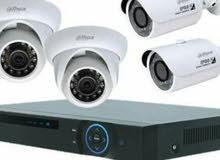 أمن بيتك اطفالك  ومكان عمل بتركيب احدث كاميرات مراقبة وتقدر تشاهدها عن طريق التل