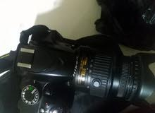 كاميرا نيكون 3200 جديده كامله مكاني بصره