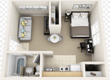 Salwa neighborhood Hawally city - 1 sqm apartment for rent
