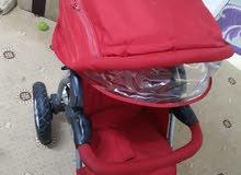 للبيع عرباي اطفال شبه جديد خفيفه او سهله للمشي