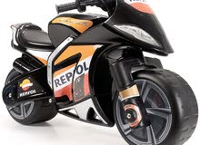 INJUSA 6-volt Repsol Wind Motorbike