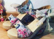 حذاء صيفي عالي