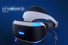 نظارات العالم الافتراضي من شركة sony VR بلستيشن ps4 جديد مستخدمة ايام نظافة 100% ،