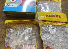 cd and rj45 3 pack new