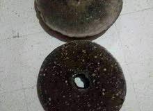 رحى قديمة مصنوعة من حجر الصوان