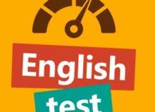 حلّ الإختبارات والواجبات assignment  باللغة الإنجليزية