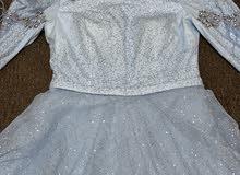 فستان سهره لون أزرق للبيع