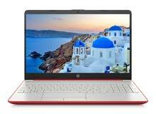 """NEW HP 15.6"""" HD Intel N5000 4GB DDR4 128GB SSD Webcam BT Win 10 Scarlet Red"""