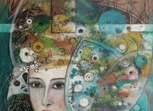 لوحات فنية نادرة مرسومة يدويا للبيع