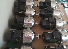 مواتير مياه 380 فولت 0.75 حصان GRUnDFOS المانى