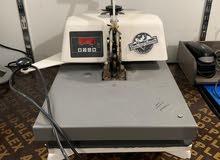 للبيع ادوات طباعة الملابس و ماكينات طباعة