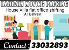 BAHRAIN BEST PACKER MOVERS  House villa packer saloon store shops office Rastura
