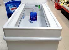 Two-meter wide open freezer freezer and supermarket chiller for sale at a price of 5500