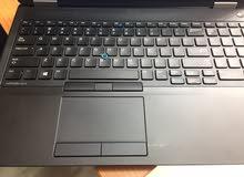 laptop dell  E5570 core i7 6th hq  ram8g ssd 128 & hdd 500 vag 2g DDR5