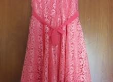 فستان بينك للبيع A beautiful pink dress for sale