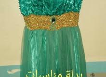 فستان استعمال مرة نظيف جدا بسعر 15 الف