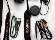 كاميرا كانون 600D استعمال نظيف للبيع