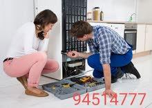 ثلاجات ومكيفات هواء وغسالات تصليحfridge repairing
