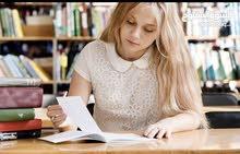 كتابة البحوث وحل الاختبارات
