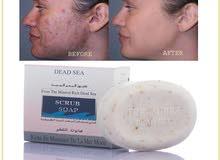 Dead sea scrub soap