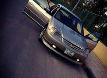 Automatic Gold Honda 2002 for sale