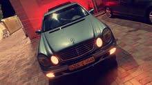 Used condition Mercedes Benz E 240 2003 with +200,000 km mileage