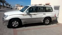 For sale 2002 White Land Cruiser