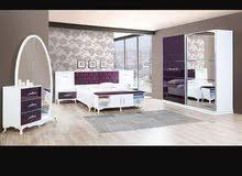 غرف نوم من المصنع بس 550 دينار العرض ل اسبوع ليته 18  غرف نوم تركيه عرض خاص