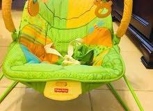 كرسي أطفال مع هزاز نوع Fisher price