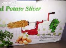 الة تقطيع البطاطس الحلزوني