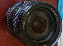 Canon L series lens 24-105mm f/4 used in excellent condition