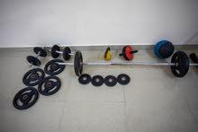 أدوات رياضية للبيع