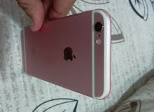 ايفون 6s 128 GB pink gold with excellent