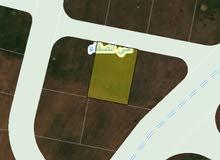 للبيع ارض 540 م في اليادوده قرب جامعه الشرق الأوسط