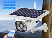 كاميرا مراقبة بالطاقة الشمسيه للنحالين والعزب