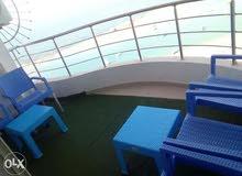 شقة فندقية للايجار اليومي عالبحر مباشر