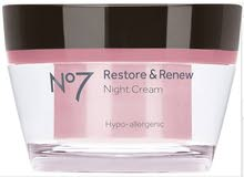 Restore and renew cream Night cream