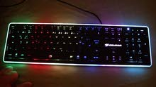 Vantar Gaming keyboard RGBكيبورد قيمنق