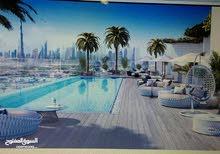 ادفع 60الف مقدم وتملك شقة غرفة وصالة بميدان قلب مدينة دبي