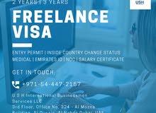 FREELANCE VISA IN UAE - CALL #0544472157