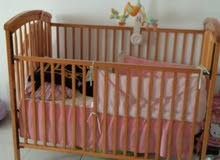 child cot for sale in a very good condition