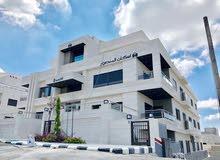 شقه مميزة للبيع في أجمل مواقع عمان الغربية باعلى المواصفات (اسكان المنصور) .