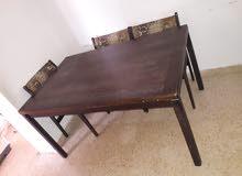 سجلونات وطاولة سفرة للبيع