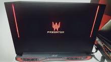 Acer Predator laptop UHD 4K gtx 1070 64RAM