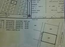 ارض للبيع في ولايه بركاء منطقة الدهس